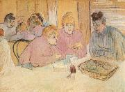Women in a Brothel Henri de toulouse-lautrec